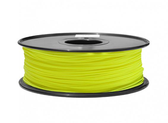 PLA Fluorescent Yellow 1kg 1.75mm HobbyKing