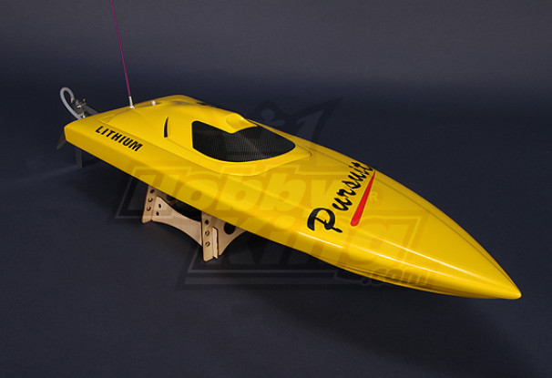 Pursuit Brushless V-Hull R/C Boat (820mm) w/Motor