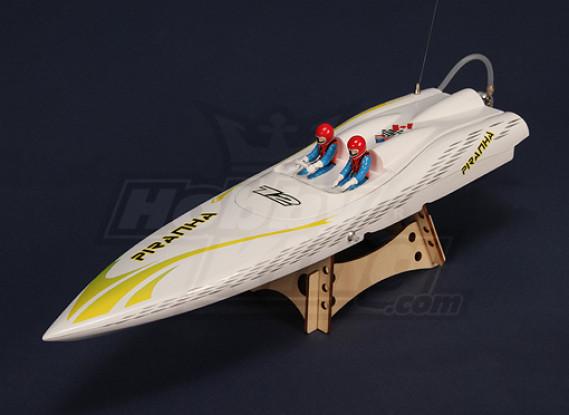 Piranha 400 Brushless V-Hull R/C Boat (400mm)