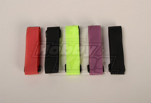 Battery Strap 300X20mm (4 Colours) (5pcs/bag)