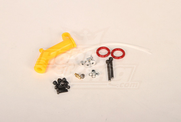 Complete Spare parts for Hatiro / RJX90 muffler (OS & YS) Yellow Pipe