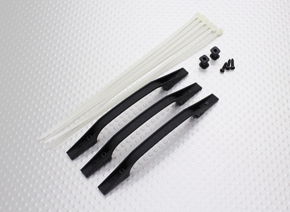 Plastic Tail Control Guide for all helis (3pcs)