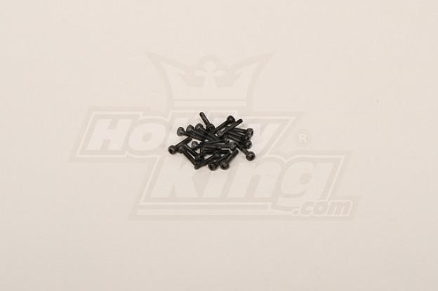 Screw Socket Head Hex M2x10 (20pcs)
