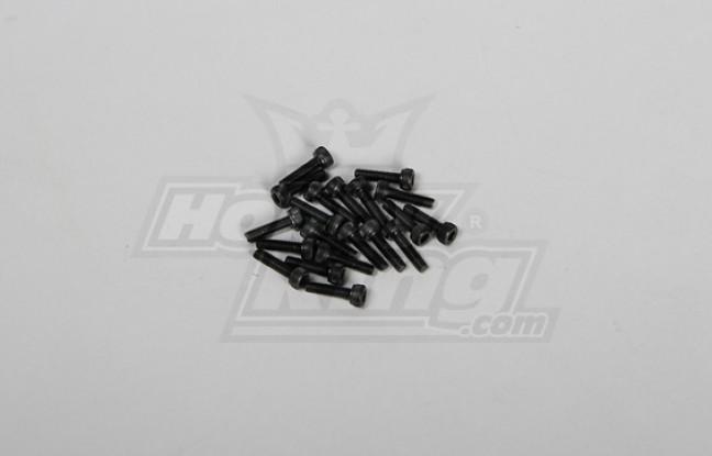 Screw Socket Head Hex M3x12mm (20pcs/pack)