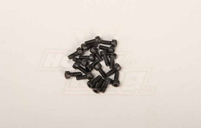 Screw Socket Head Hex M4x10mm (20pcs)