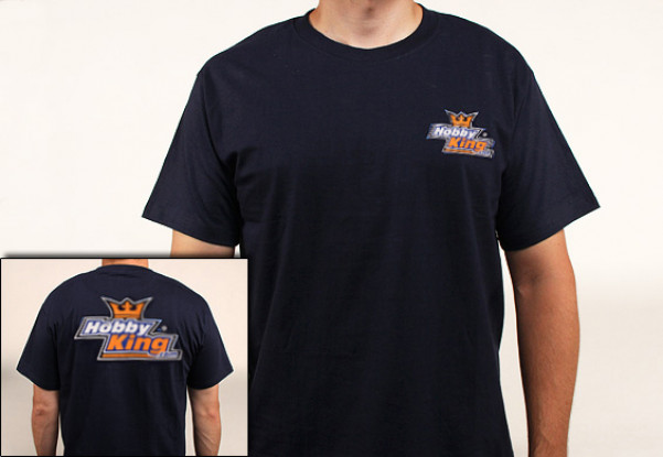 Hobby King T-Shirt Navy Blue (2X-Large)