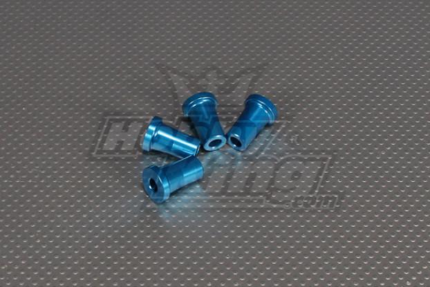 CNC Standoff 25mm (M6,1/4 20) Blue