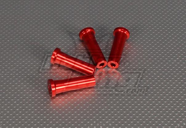 CNC Standoff 45 mm (M5) Red