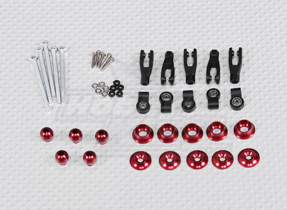 Adjustable Control Horns with ball bearing for F3-A (5sets/bag)