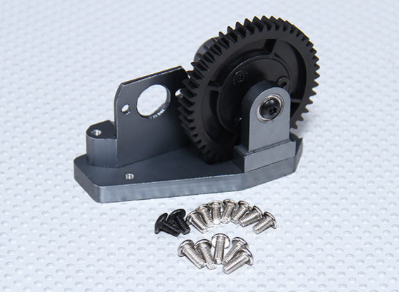 Spur Gear and Motor Mount Set - Go-Kart