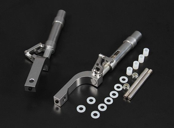 Alloy 125mm Offset Oleo Legs for 12.7mm Pin (2pc)