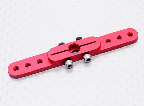 Heavy Duty Alloy 2.5in Pull-Pull Servo Arm - JR (Red)