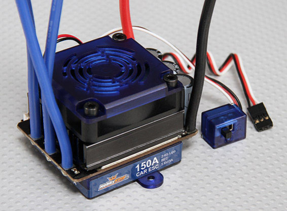 Hobbyking 150A Sensored/Sensorless Brushless Car ESC