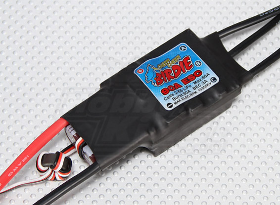 Birdie 90A Brushless ESC w/ 3A BEC