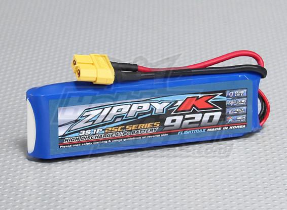 Zippy-K Flightmax 920mAh 3S1P 25C Lipoly Battery