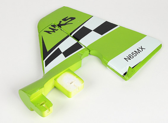 Green MX2 3D - Replacement Vertical Tail