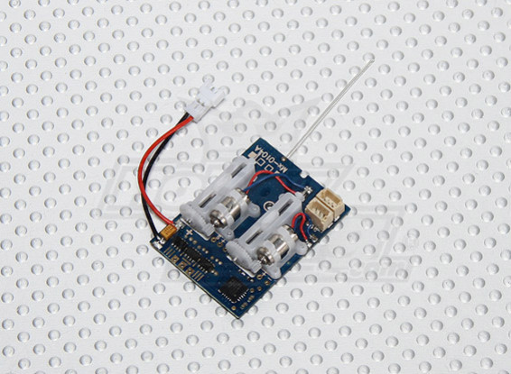 2.4Ghz SuperMicro Systems - Receiver, Brushless ESC and 2 x Linear Servos All-in-one (5ch)