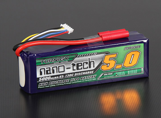 Turnigy nano-tech 5000mah 4S 65~130C Lipo Pack