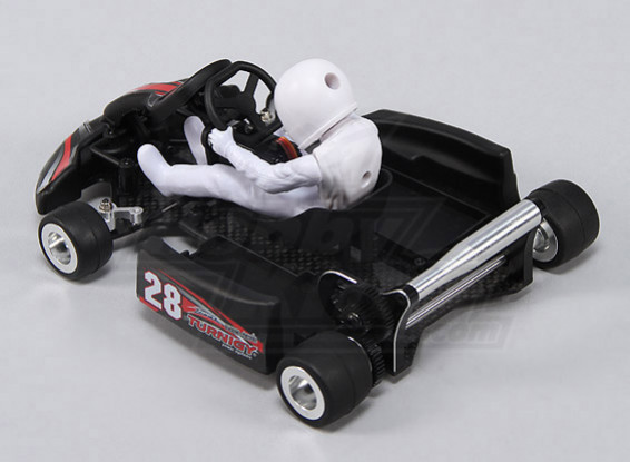 Turnigy F1 1/18 Mini Go-Kart w/Carbon Fiber Frame (KIT version w/servo)