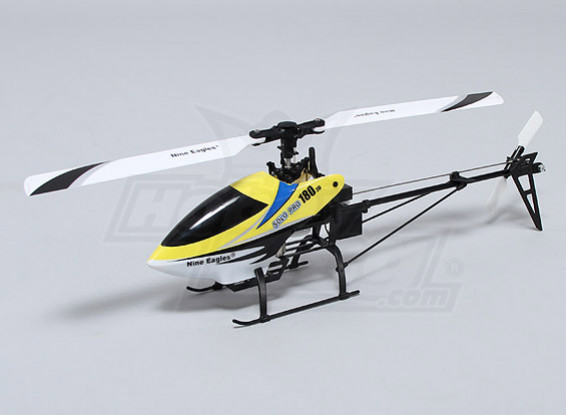 Solo PRO 180 3G Flybarless 3D Micro Helicopter - Yellow (US Plug) (RTF)