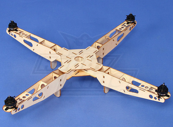 Hobbyking Mini Quadcopter Frame with Motors (550mm)
