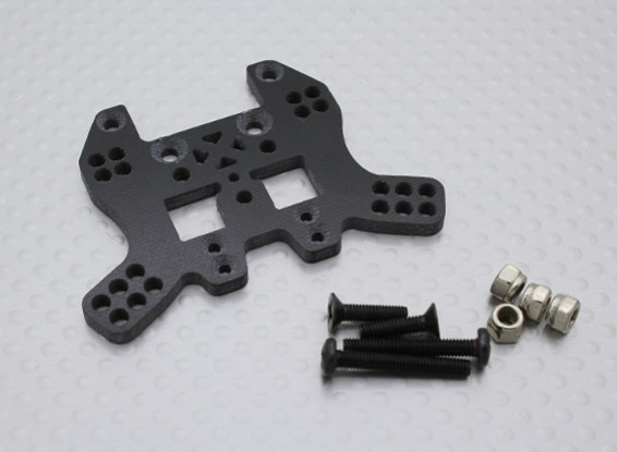 Rear Shock Tower (Glass Fiber) w/Hardware - 110BS, A2027, A2029 and A2035