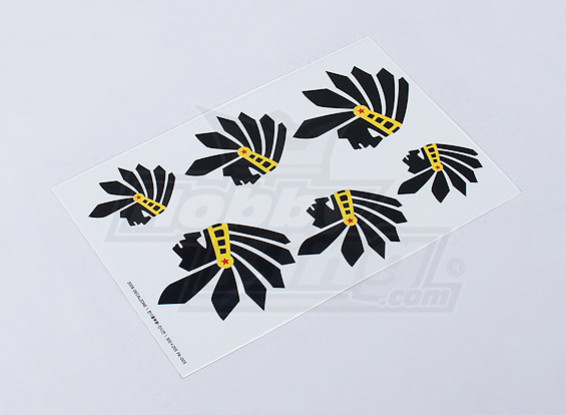 Indian Decal Sheet