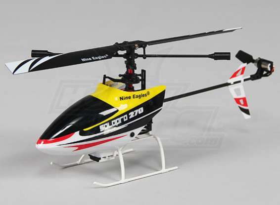 Solo PRO 270 4ch Fixed Pitch Micro Helicopter - Yellow (Mode 2) (RTF)