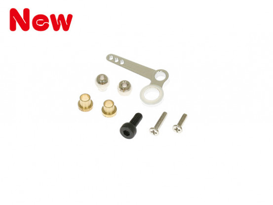 Gaui 100 & 200 Size CNC Tail Pitch Lever Set (203582)