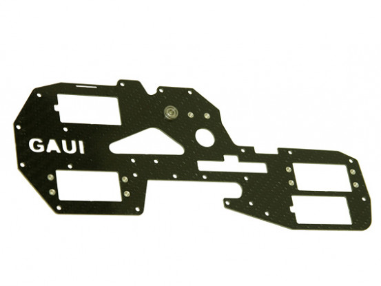 Gaui 425 & 550 H550 Right Carbon Frame with Metal parts