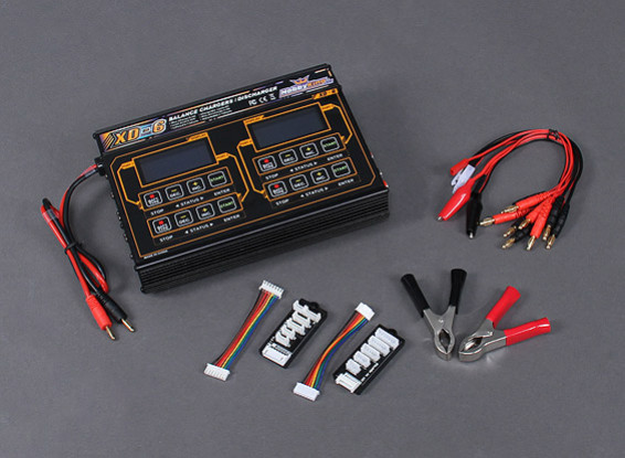 HobbyKing™ XD-6 Balance Charger Plus Accessories 240W (4 X 60W)