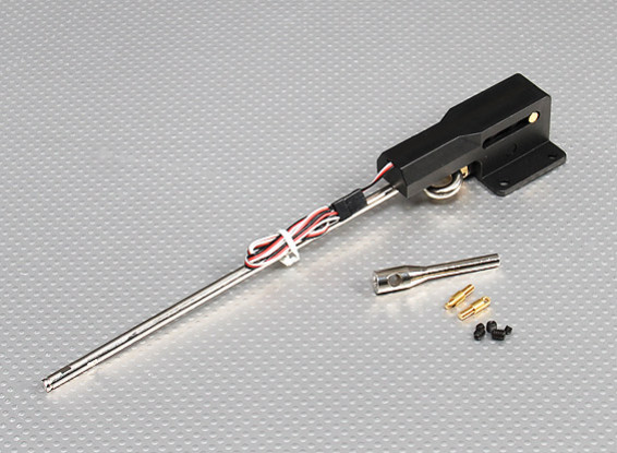 0 46 Servoless Retractable Landing Gear w/Metal Trunnion - Noseleg