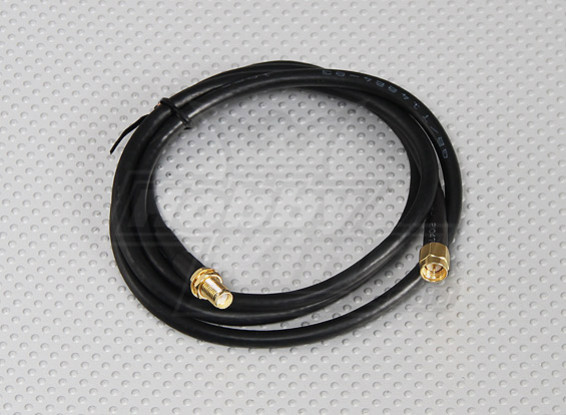 RG58 Patch Cable SMA Female to SMA Male (1 Meter)
