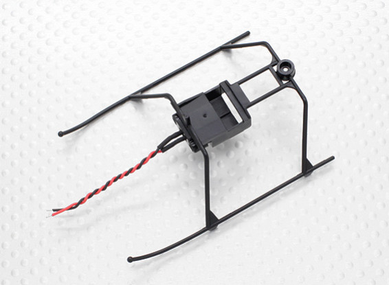 FP100 Helicopter Landing Skid and Battery Mount