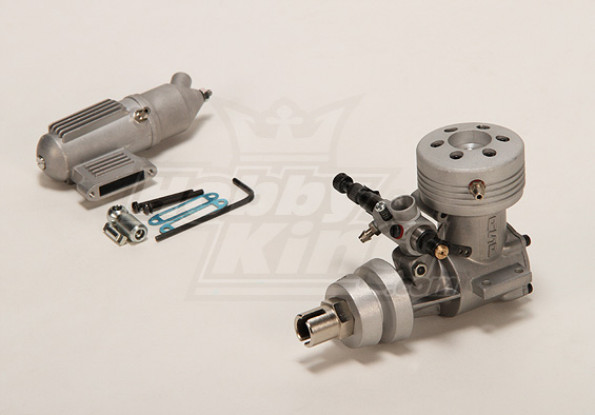 ASP 21M Two Stroke Water Cooled Glow Engine
