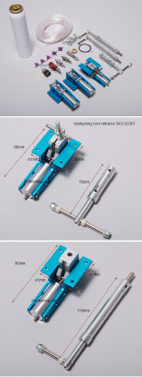 Air Operated Retracts Kit 3-WayValve (model: 2201)