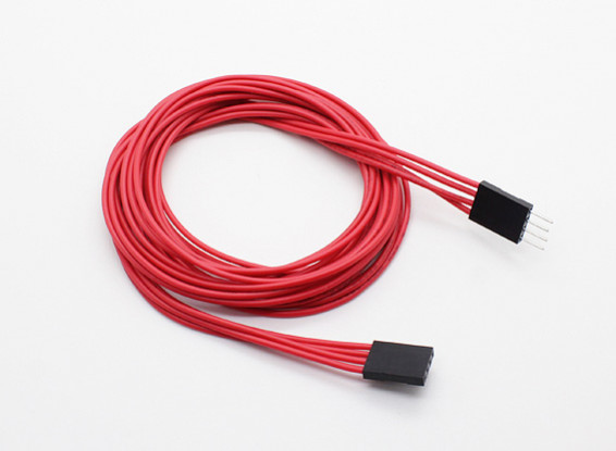1000mm 4-pin Extension Cable for LED RGB Multi-Function Driver/Controller