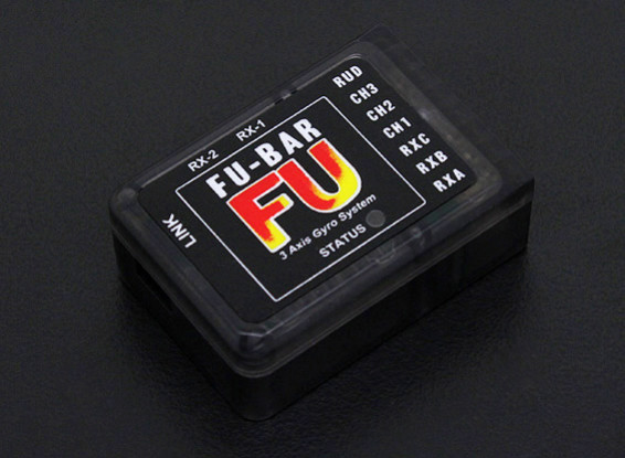 Mini FU-BAR V5.3.4 3-Axis Flybarless Helicopter Control System