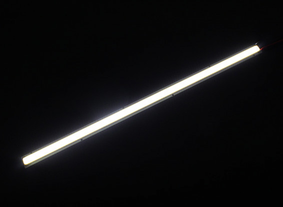 10W White LED Alloy Strip 250mm x 12mm (3s Compatible)