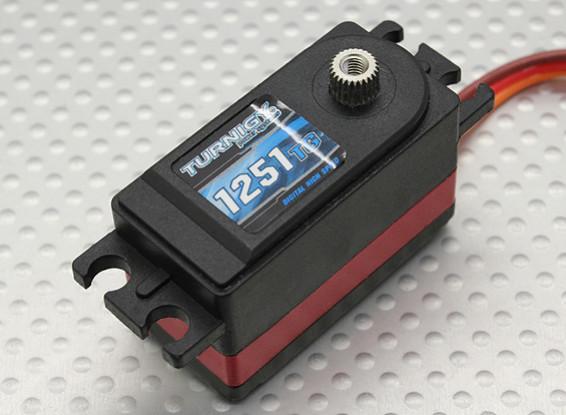 Turnigy™ 1251TG Coreless Low Profile DS/MG Servo 25T 8kg / 0.9 sec / 48g