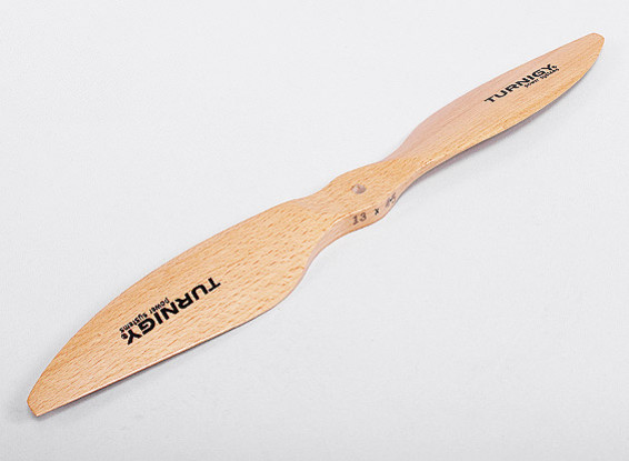 Turnigy Wooden Slowfly Propeller 13x4.5 (CW) (1pc)