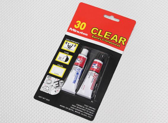 EV830/20G 30 Min Cure Clear Epoxy Glue