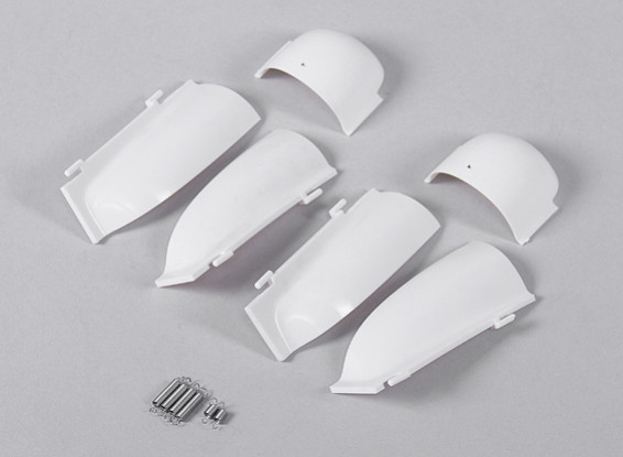 Durafly™ 1100mm A1 Skyraider - Replacement Main Landing Gear Cover Set