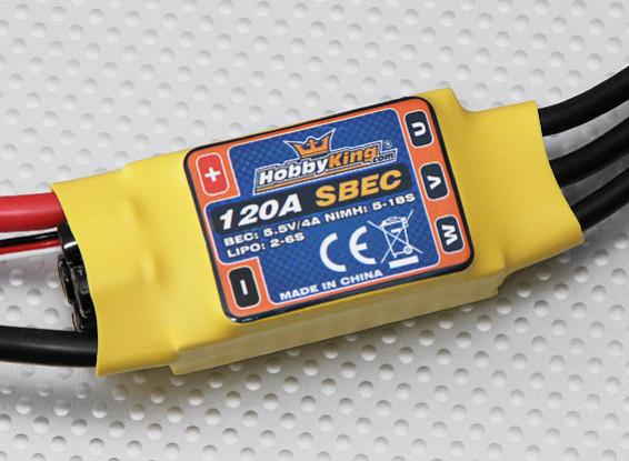 HobbyKing 120A ESC 4A UBEC
