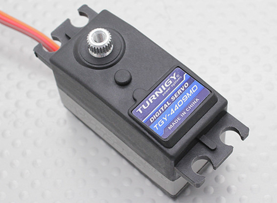 Turnigy™ TGY-4409MD DS/MG Servo 25T 9.45kg / 0.11sec / 44g