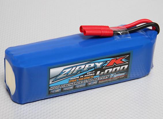 Zippy-K Flightmax 4000mah 6S1P 25C Lipoly Battery