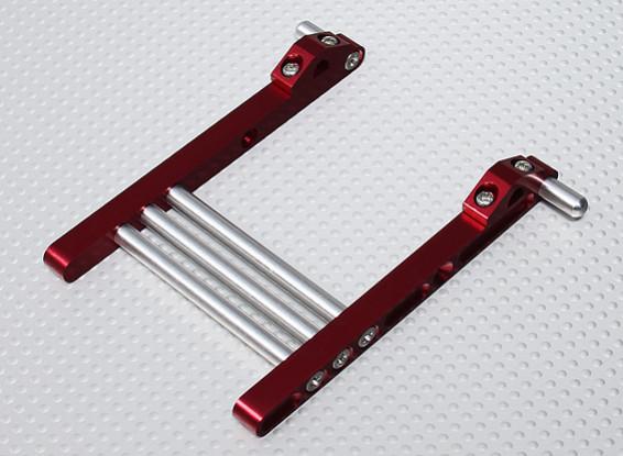 Folding Transmitter Stand JR / Futaba Radios - Red