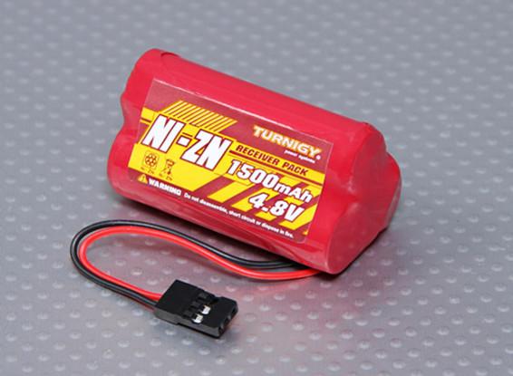 Ni-ZN 4.8V 1500mAh Receiver Pack
