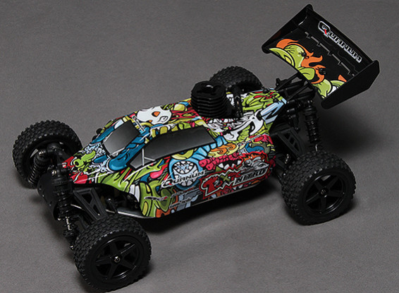 Quanum Toxic Nitro 1/10th 4wd Racing Buggy (ARR)