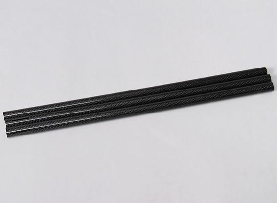 Turnigy Talon Tricopter (V1.0) - Extended Carbon Fibre Boom (380mm) (3pcs)